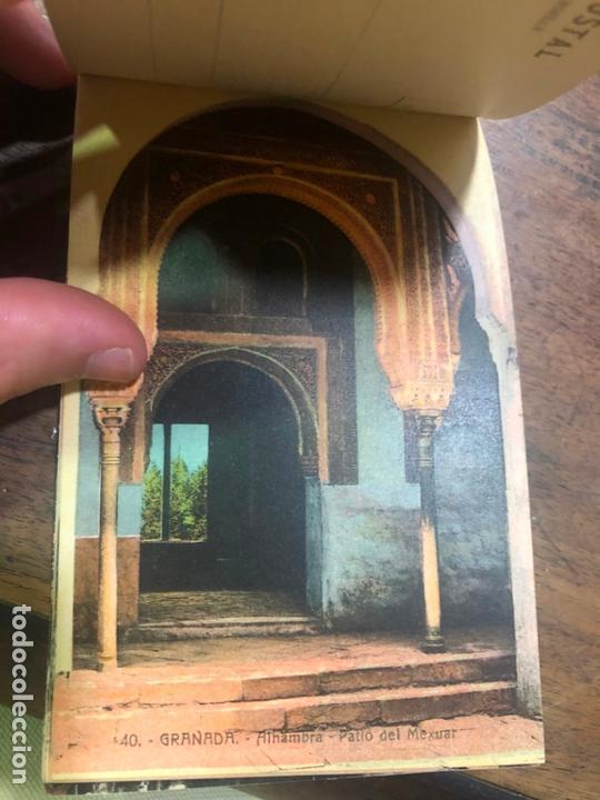Postales: LIBRO RECUERDO DE GRANADA - TARJETAS POSTALES POR ABELARDO LINARES - ALHAMBRA - Foto 15 - 172067040