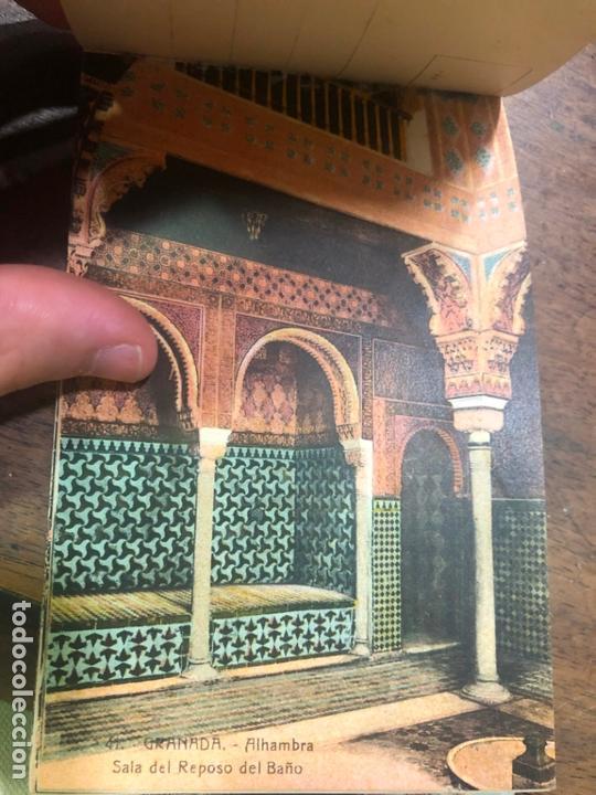 Postales: LIBRO RECUERDO DE GRANADA - TARJETAS POSTALES POR ABELARDO LINARES - ALHAMBRA - Foto 16 - 172067040