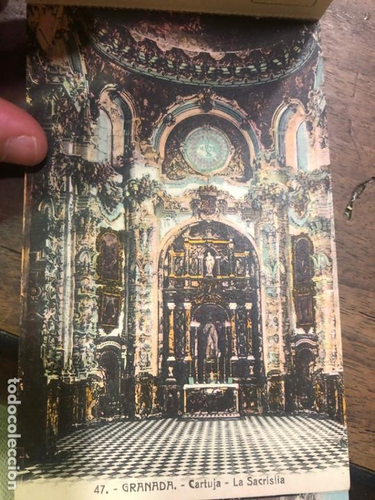 Postales: LIBRO RECUERDO DE GRANADA - TARJETAS POSTALES POR ABELARDO LINARES - ALHAMBRA - Foto 21 - 172067040