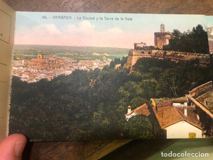 Postales: LIBRO RECUERDO DE GRANADA - TARJETAS POSTALES POR ABELARDO LINARES - ALHAMBRA - Foto 22 - 172067040