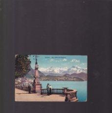 Postales: POSTCARD - LUZERN. AM SCHWEISERHOFQUAI - 1912 - TARJETA POSTAL CIRCULADA. Lote 172091368