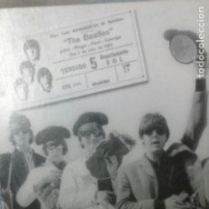 Postales: THE BEATLES - LLEGADA A BARCELONA. Lote 172224078