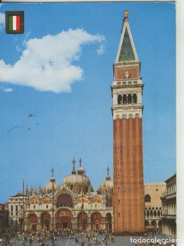 Postal 008307 Plaza De San Marcos De Venecia Italia