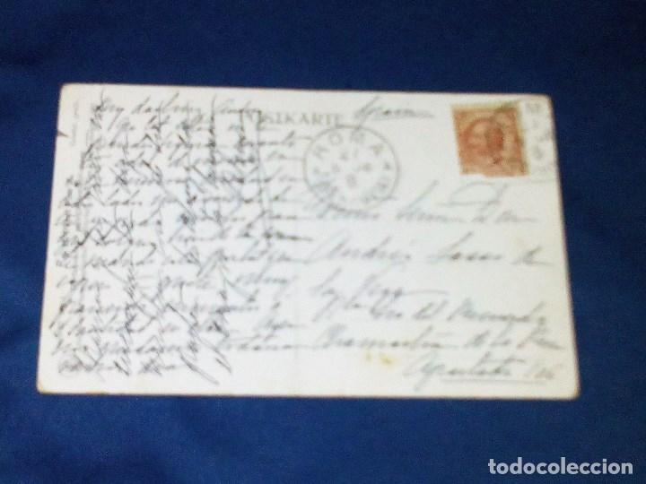 Postales: Vendo Postal de S.S. el Papa Pio X del año 1907 y escrita el 26 de Mayo de 1908. Ver otra foto. - Foto 2 - 172659774