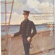 Postales: P-9398. POSTAL ILUSTRADA, REPUBLICA ARGENTINA, ARMADA ARGENTINA. ESCUELA NAVAL. 1910.. Lote 172701610