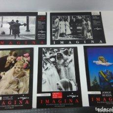 Postales: ALMERÍA POSTALES EXPOSICIÓN IMAGINA 1991 LOTE DE 5. Lote 173440165