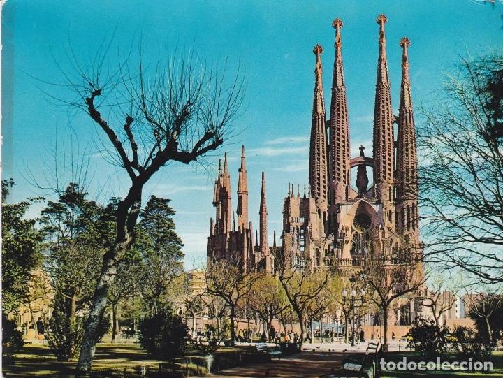 POSTAL B13177: BARCELONA: TEMPLO SAGRADA FAMILIA (Postales - Varios)
