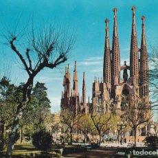 Postales: POSTAL B13177: BARCELONA: TEMPLO SAGRADA FAMILIA. Lote 173776003