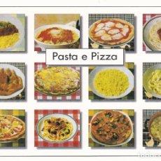 Postales: POSTAL B13047: ITALIA: PASTA Y PIZZA. DIVERSOS ASPECTOS. Lote 173788293