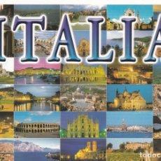 Postales: POSTAL B13046: ITAIA: DIVERSOS ASPECTOS. Lote 173788314