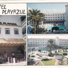 Postales: POSTAL B13041: ALMERIA: HOTEL PLAYAZUL. DIVERSOS ASPECTOS. Lote 173788445