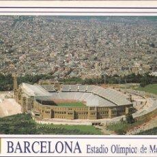 Postales: POSTAL B13038: BARCELONA: ESTADIO OLIMPICO. Lote 173788519