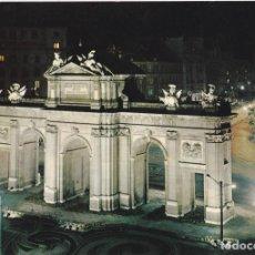 Postales: POSTAL B13238: MADRID. PUERTA DE ALCALA. VISTA NOCTURNA. Lote 173788645