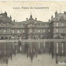 Postales: POSTAL PARIS. PALAIS DU LUXEMBOURG. FRANCIA. ESCRITA CON SELLO. 1910.. Lote 174178408