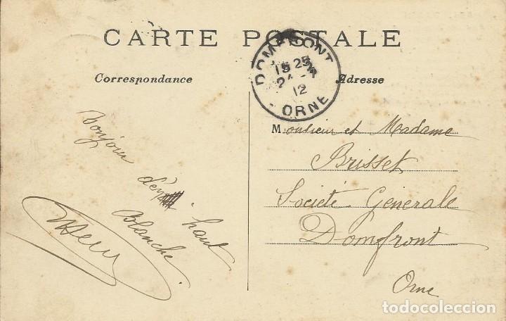 Postales: Postal Paris. Arc de Triomphe de lEtoile. 554. Francia. Escrita con sello. 1912. Arco de Triunfo. - Foto 2 - 174178763