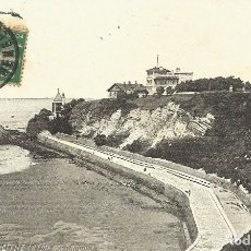 Postales: POSTAL FRANCIA: BIARRITZ. LA COTE DES BASQUES. 1753. 1916. ESCRITA CON SELLO.. Lote 174240342