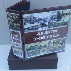 Postales: ALBUM BBB*, MODELO SUPERMAMUT CON CAJETÍN. 4 ANILLAS 80/80/80 DE 60MM.GRAN CAPACIDAD.POSTALES. Lote 174990877