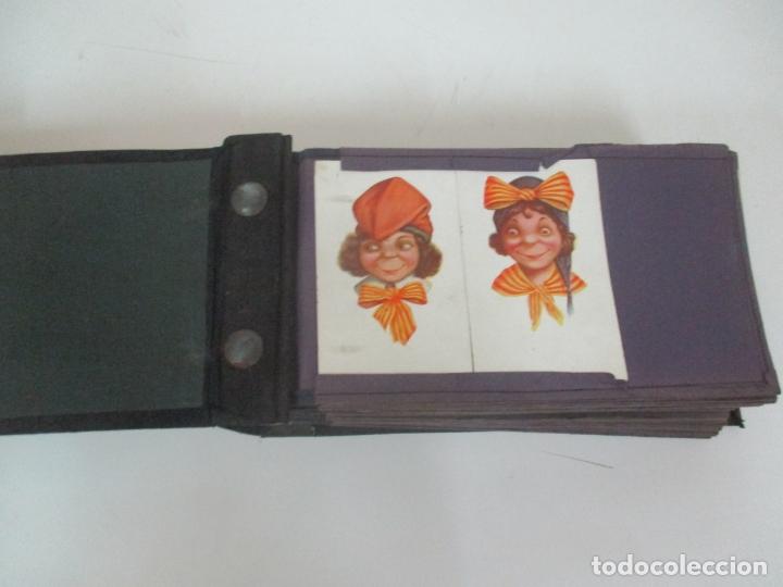 Postales: Antiguo Álbum de Postales - con 61 Páginas - 329 postales Diferentes Temáticas - Principios S. XX - Foto 5 - 166084602