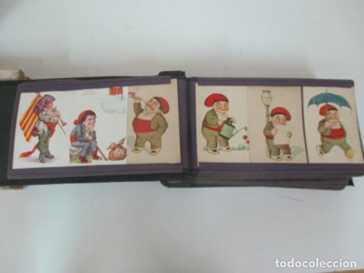 Postales: Antiguo Álbum de Postales - con 61 Páginas - 329 postales Diferentes Temáticas - Principios S. XX - Foto 6 - 166084602