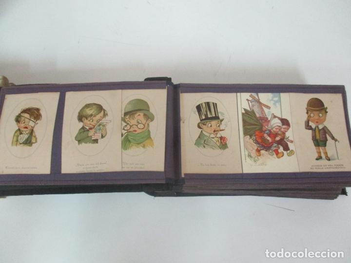 Postales: Antiguo Álbum de Postales - con 61 Páginas - 329 postales Diferentes Temáticas - Principios S. XX - Foto 7 - 166084602