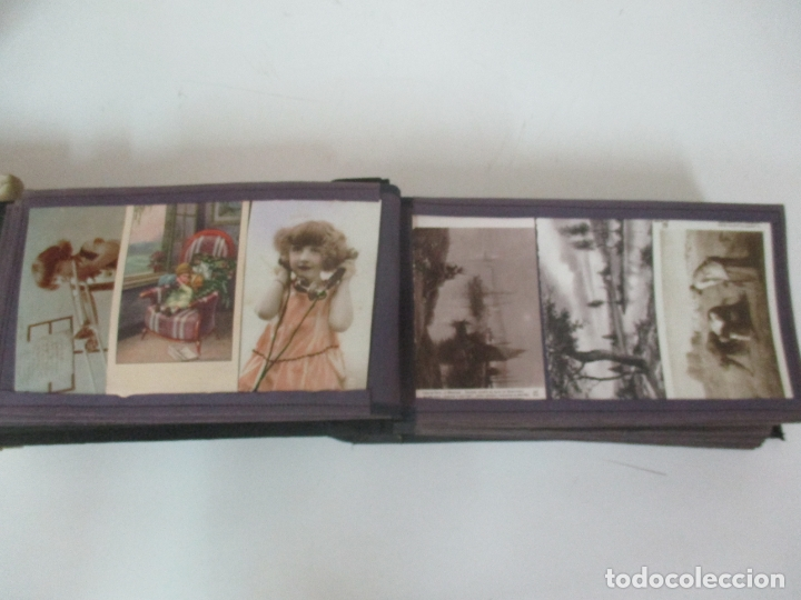 Postales: Antiguo Álbum de Postales - con 61 Páginas - 329 postales Diferentes Temáticas - Principios S. XX - Foto 9 - 166084602