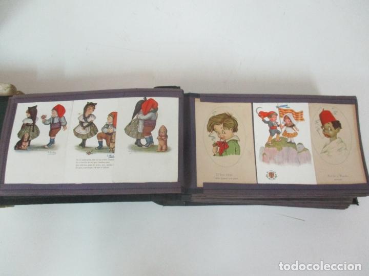 Postales: Antiguo Álbum de Postales - con 61 Páginas - 329 postales Diferentes Temáticas - Principios S. XX - Foto 10 - 166084602