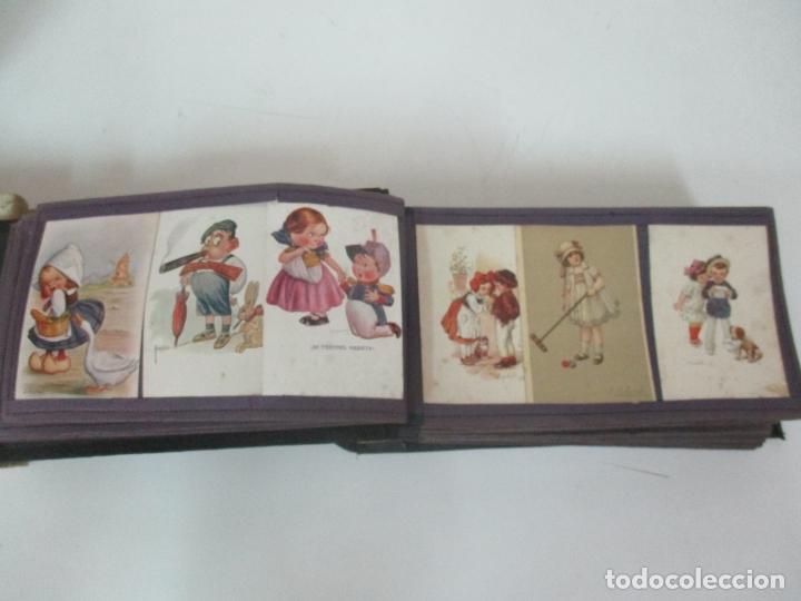 Postales: Antiguo Álbum de Postales - con 61 Páginas - 329 postales Diferentes Temáticas - Principios S. XX - Foto 11 - 166084602