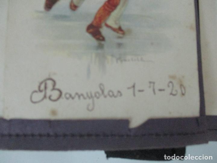 Postales: Antiguo Álbum de Postales - con 61 Páginas - 329 postales Diferentes Temáticas - Principios S. XX - Foto 12 - 166084602
