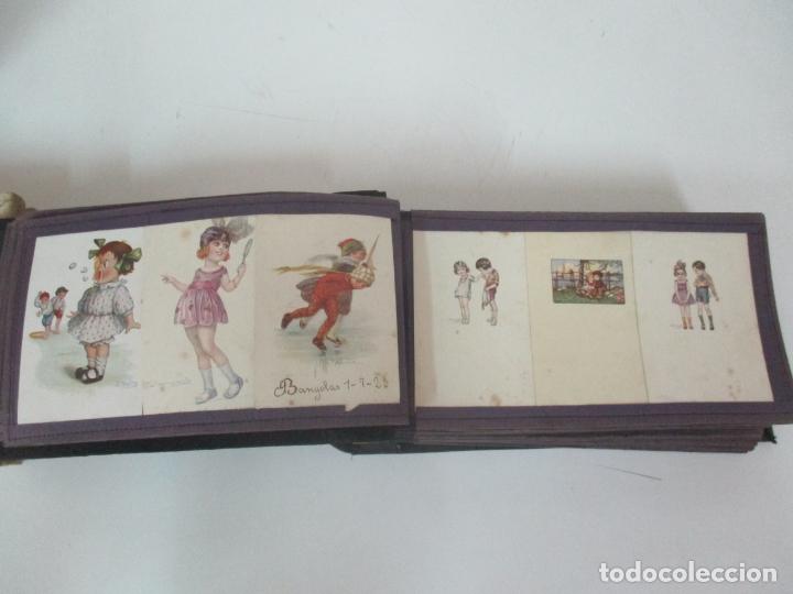 Postales: Antiguo Álbum de Postales - con 61 Páginas - 329 postales Diferentes Temáticas - Principios S. XX - Foto 13 - 166084602