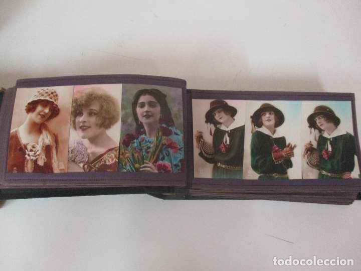 Postales: Antiguo Álbum de Postales - con 61 Páginas - 329 postales Diferentes Temáticas - Principios S. XX - Foto 20 - 166084602