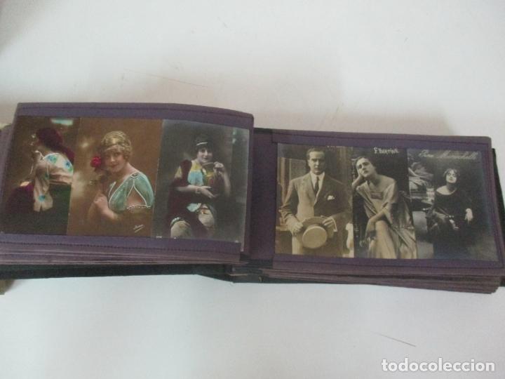 Postales: Antiguo Álbum de Postales - con 61 Páginas - 329 postales Diferentes Temáticas - Principios S. XX - Foto 22 - 166084602