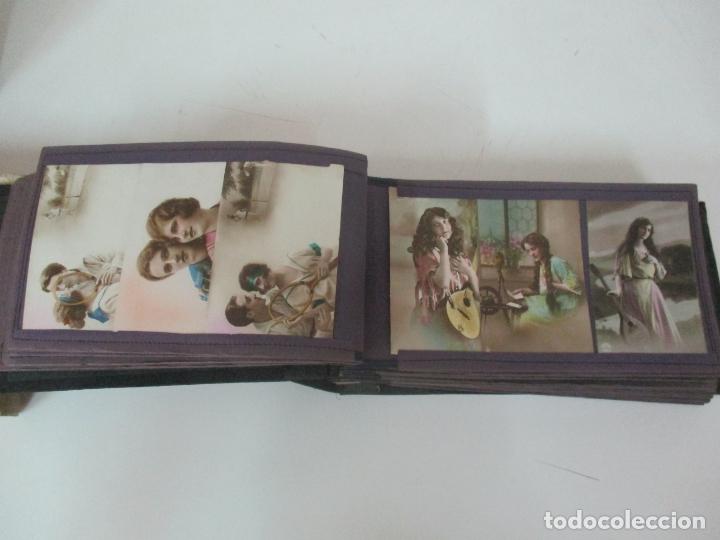 Postales: Antiguo Álbum de Postales - con 61 Páginas - 329 postales Diferentes Temáticas - Principios S. XX - Foto 23 - 166084602