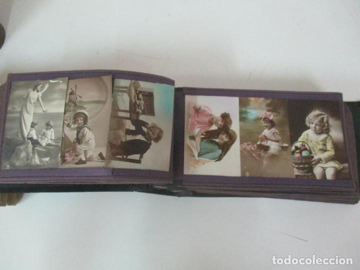 Postales: Antiguo Álbum de Postales - con 61 Páginas - 329 postales Diferentes Temáticas - Principios S. XX - Foto 25 - 166084602