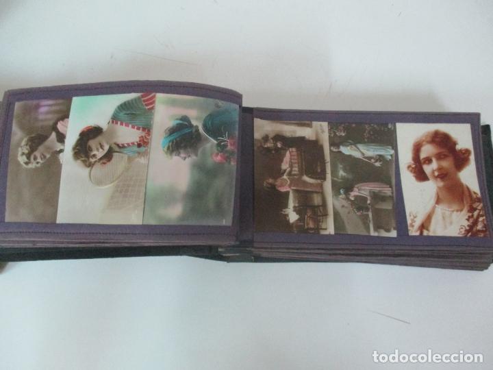 Postales: Antiguo Álbum de Postales - con 61 Páginas - 329 postales Diferentes Temáticas - Principios S. XX - Foto 26 - 166084602
