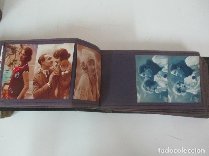 Postales: Antiguo Álbum de Postales - con 61 Páginas - 329 postales Diferentes Temáticas - Principios S. XX - Foto 29 - 166084602