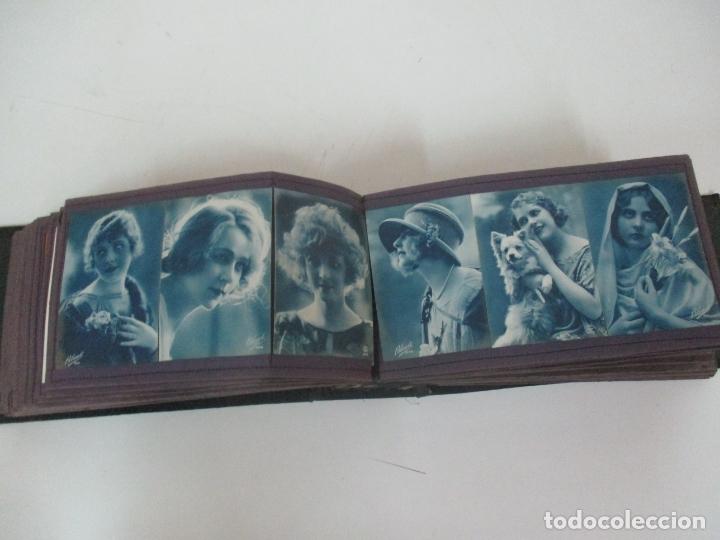 Postales: Antiguo Álbum de Postales - con 61 Páginas - 329 postales Diferentes Temáticas - Principios S. XX - Foto 30 - 166084602
