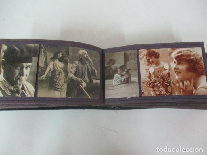 Postales: Antiguo Álbum de Postales - con 61 Páginas - 329 postales Diferentes Temáticas - Principios S. XX - Foto 32 - 166084602