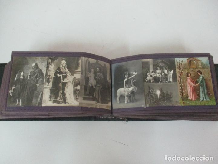Postales: Antiguo Álbum de Postales - con 61 Páginas - 329 postales Diferentes Temáticas - Principios S. XX - Foto 33 - 166084602