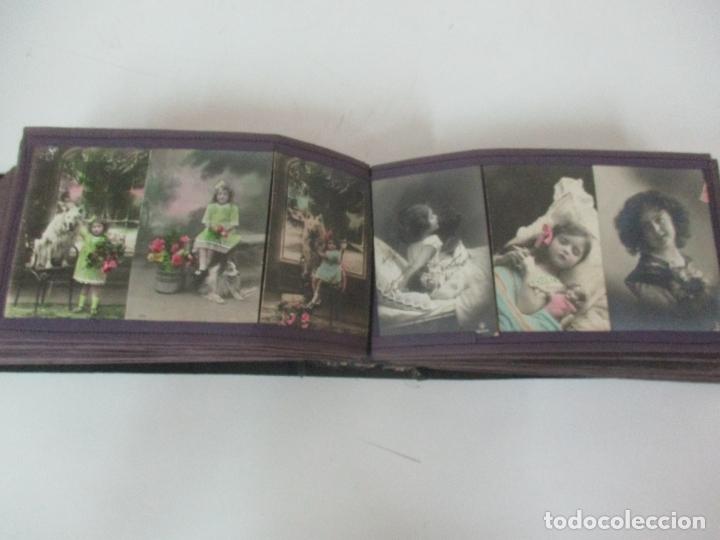 Postales: Antiguo Álbum de Postales - con 61 Páginas - 329 postales Diferentes Temáticas - Principios S. XX - Foto 35 - 166084602