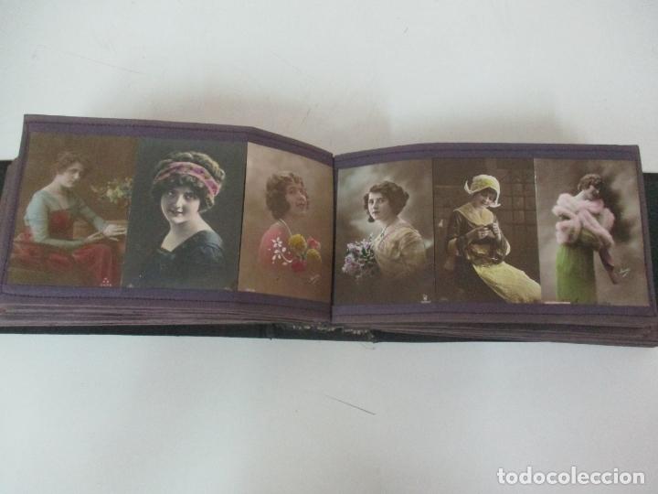 Postales: Antiguo Álbum de Postales - con 61 Páginas - 329 postales Diferentes Temáticas - Principios S. XX - Foto 36 - 166084602