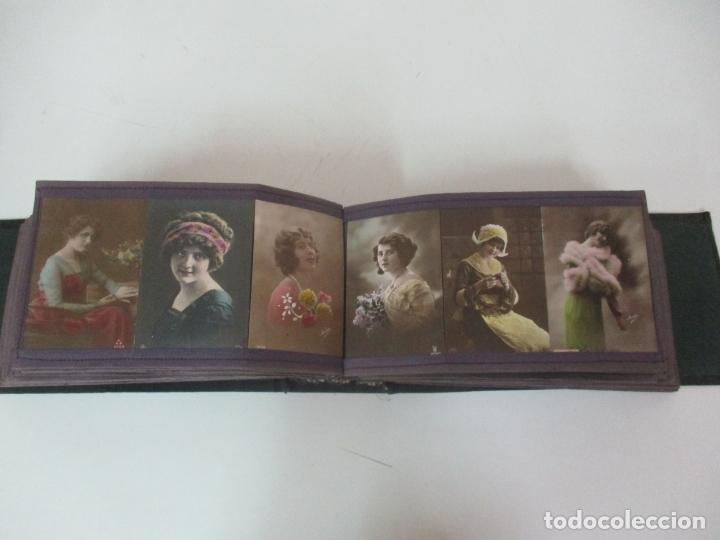 Postales: Antiguo Álbum de Postales - con 61 Páginas - 329 postales Diferentes Temáticas - Principios S. XX - Foto 37 - 166084602