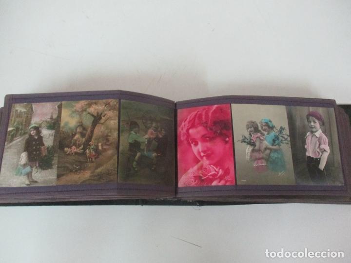 Postales: Antiguo Álbum de Postales - con 61 Páginas - 329 postales Diferentes Temáticas - Principios S. XX - Foto 38 - 166084602