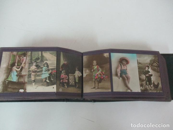 Postales: Antiguo Álbum de Postales - con 61 Páginas - 329 postales Diferentes Temáticas - Principios S. XX - Foto 39 - 166084602