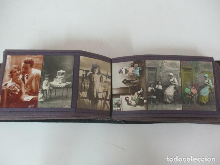 Postales: Antiguo Álbum de Postales - con 61 Páginas - 329 postales Diferentes Temáticas - Principios S. XX - Foto 41 - 166084602