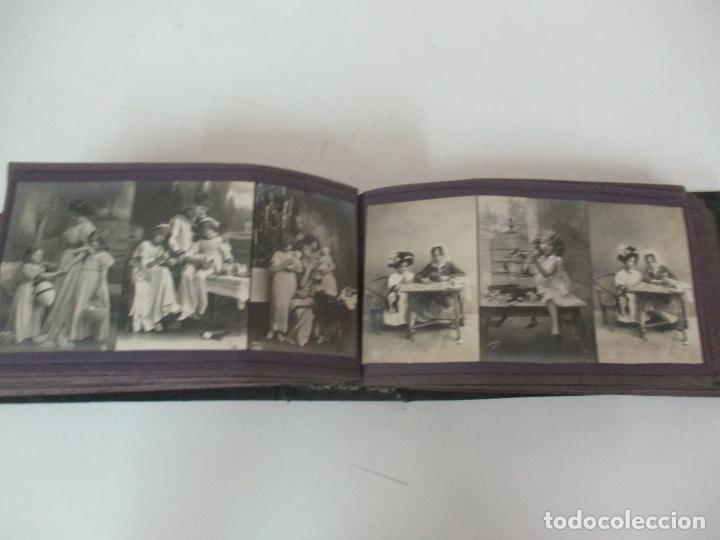Postales: Antiguo Álbum de Postales - con 61 Páginas - 329 postales Diferentes Temáticas - Principios S. XX - Foto 42 - 166084602
