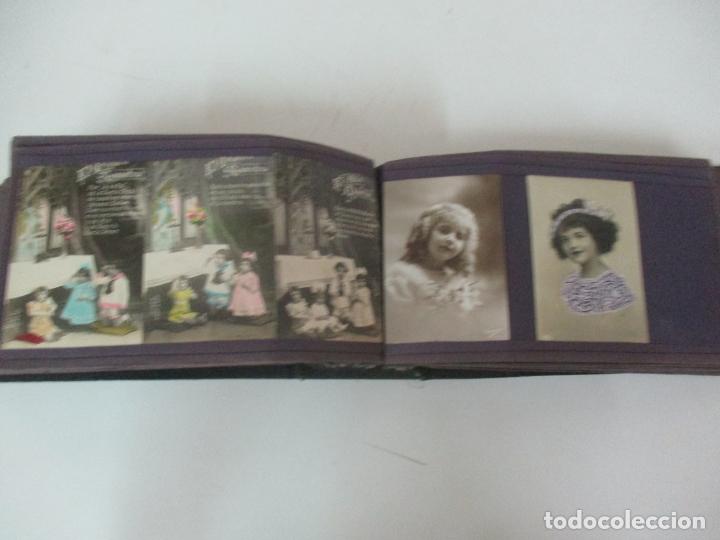 Postales: Antiguo Álbum de Postales - con 61 Páginas - 329 postales Diferentes Temáticas - Principios S. XX - Foto 43 - 166084602