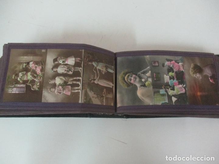 Postales: Antiguo Álbum de Postales - con 61 Páginas - 329 postales Diferentes Temáticas - Principios S. XX - Foto 44 - 166084602