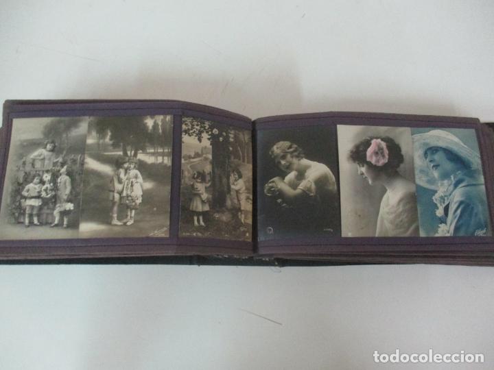 Postales: Antiguo Álbum de Postales - con 61 Páginas - 329 postales Diferentes Temáticas - Principios S. XX - Foto 45 - 166084602