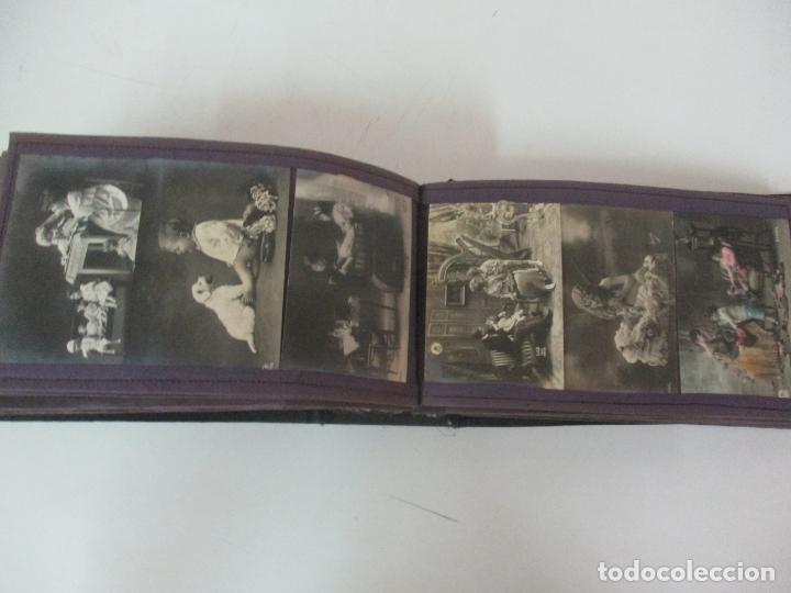 Postales: Antiguo Álbum de Postales - con 61 Páginas - 329 postales Diferentes Temáticas - Principios S. XX - Foto 46 - 166084602