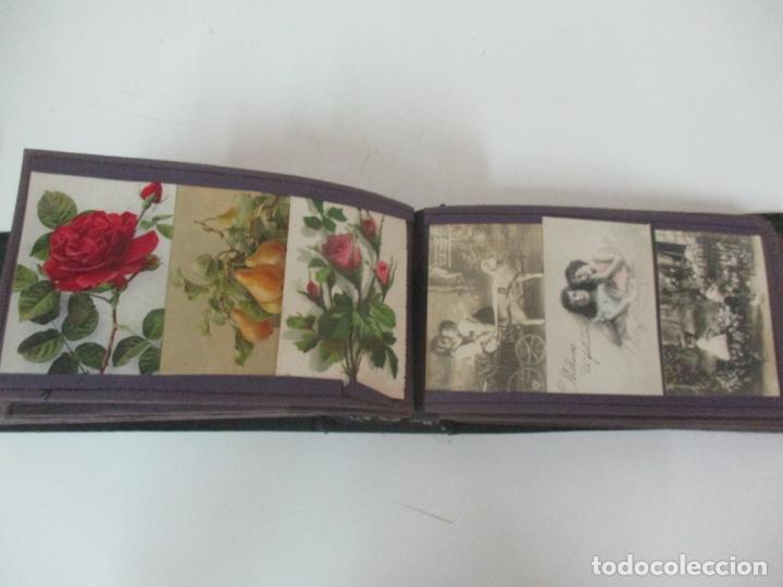 Postales: Antiguo Álbum de Postales - con 61 Páginas - 329 postales Diferentes Temáticas - Principios S. XX - Foto 47 - 166084602